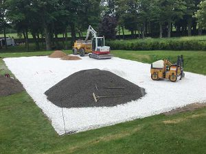 Padel Court Construction - Wakefield, Yorkshire