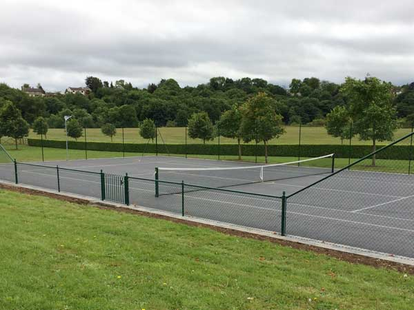 Tennis Court Fencing Yorkshire