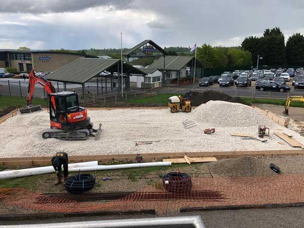 Padel Court Construction Yorkshire UK